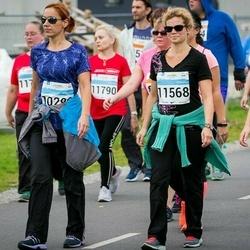 SEB Tallinna Maratoni Sügisjooks (10 km) - Kaire Kopli (11568), Annabel Kopli (11569)