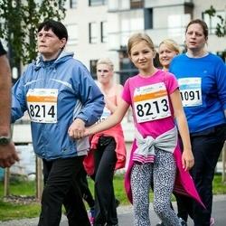 SEB Tallinna Maratoni Sügisjooks (10 km) - Amanda Maljugina (8213), Agnessa Zinovjeva (8214)