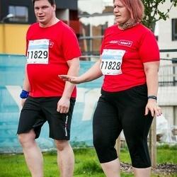 SEB Tallinna Maratoni Sügisjooks (10 km) - Piret Klee (11828), Aadu Klee (11829)