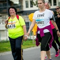 SEB Tallinna Maratoni Sügisjooks (10 km) - Alevtina Streljajeva (8478), Agnes Pihlak (12007)