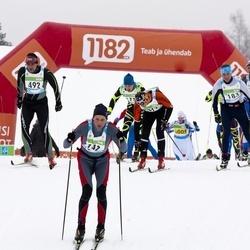 42. Tartu Maraton - Linus Jansson (183), Alexander Shashin (492)