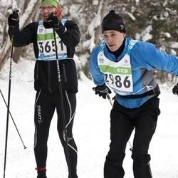 42. Tartu Maraton - Ando Reila (2986), Ero Sõmer (3651)