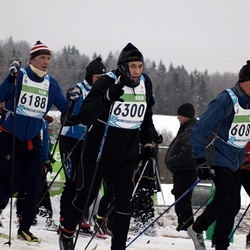 42. Tartu Maraton - Ahti Asmann (6188), Alar Luik (6300)