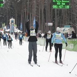42. Tartu Maraton - Annemari Maddison (9345), Janis Ielejs (9510)