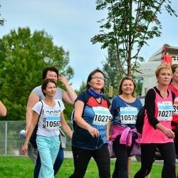 SEB Tallinna Maratoni Sügisjooks (10 km) - Tiiu Vainola (10279), Alesya Strunina (10563)