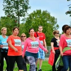SEB Tallinna Maratoni Sügisjooks (10 km) - Olga Lumijõe (10327), Anna Lumijõe (10328)