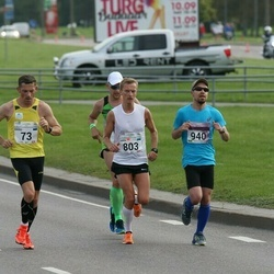 SEB Tallinna Maraton - Raido Raspel (73), Karol Keskküla (803), Aaro Kuivalainen (940)