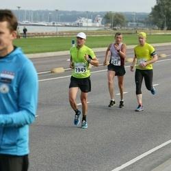 SEB Tallinna Maraton - Aigars Rublis (637), Veljo Vask (1816), Aleksei Kuligin (1945)