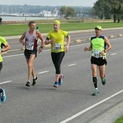 SEB Tallinna Maraton - Aigars Rublis (637), Vahur Mäe (1808), Veljo Vask (1816), Aleksei Kuligin (1945)