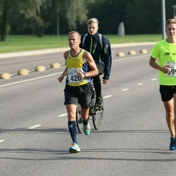 SEB Tallinna Maraton - Arnold Laasu (420), Joonatan Kama (699)