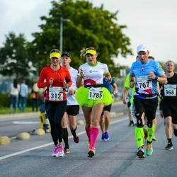 SEB Tallinna Maraton - Natalia Bagaeva (312), Mikhail Borisov (767), Olesia Krasnomovets (1785)