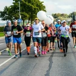 SEB Tallinna Maraton - Eija Krok (1279), Martin Mäe (1291), Alar Siemann (2130), Yury Filin (2170)