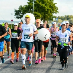 SEB Tallinna Maraton - Eija Krok (1279), Martin Mäe (1291), Annemari Muru (2011)
