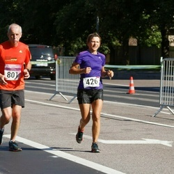 SEB Tallinna Maraton - Tatiana Sviridova (426), Bernard Naudin (801)