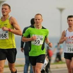 SEB Tallinna Maraton - Christian Gunnarsson (59), Erkki Ehasalu (168)