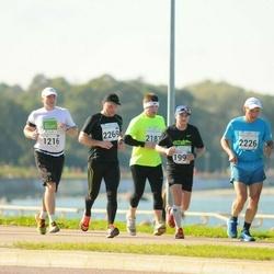 SEB Tallinna Maraton - Timmo Kõrran (226), Jarmo Vooglaine (1219), Ari Setälä (2269)