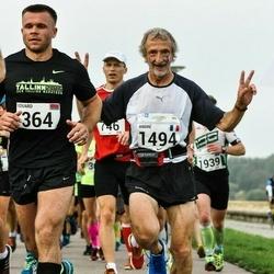 SEB Tallinna Maraton - Eduard Mikhniukevich (364), André Bon (1494)