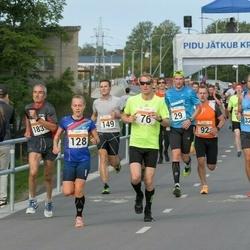SEB Tallinna Maratoni Sügisjooks (10 km) - Brendan Thomas Peo (86), Andero Arak (92), Kaia Lepik (128), Marge Luik (3373)