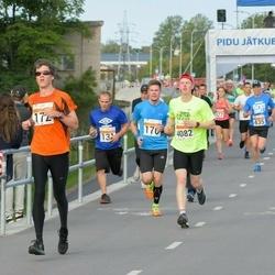 SEB Tallinna Maratoni Sügisjooks (10 km) - Andre Lomaka (172), Enari Tõnström (4082)