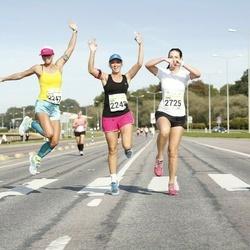 SEB Tallinna Maraton - Helen Takk (2247), Inge Peetersoo (2248), Tiina Tali (2725)