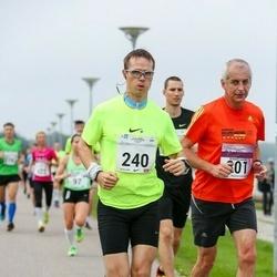 SEB Tallinna Maraton - Tõnu Vahtra (240), Bernard Naudin (801)