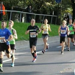 SEB Tallinna Maratoni Sügisjooks (10 km) - Christopher Kalev (67), Mikk Laur (69)
