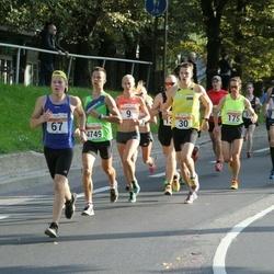 SEB Tallinna Maratoni Sügisjooks (10 km) - Rain Seepõld (30), Christopher Kalev (67), Indrek Tärno (175)