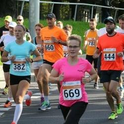 SEB Tallinna Maratoni Sügisjooks (10 km) - Aigar Ojaots (444), Sanna Kokkonen (669)