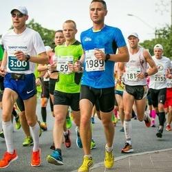 SEB Tallinna Maraton - Christian Gunnarsson (59), Neeme Loorits (238), Deniss Košelev (1989)