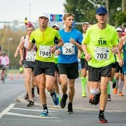 SEB Tallinna Maraton - Daniil Steptsenko (26), Hanno Kindel (230), Ivo Vahtramäe (703), Aleksei Kuligin (1945)