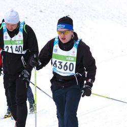 42. Tartu Maraton - Artur Ande (2140), Aldo Mett (6360)