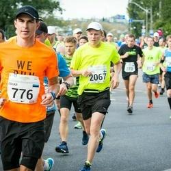 SEB Tallinna Maraton - Edgar Peganov (776), Arttu Borchers (2067)