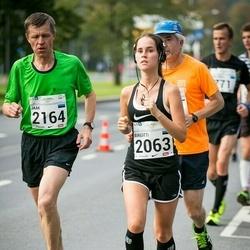 SEB Tallinna Maraton - Birgitti Pilvet (2063), Jaak Rohtsalu (2164)