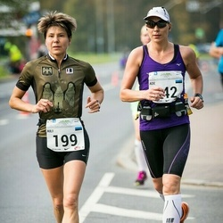 SEB Tallinna Maraton - Aili Sempelson (199), Ade Russak (542)