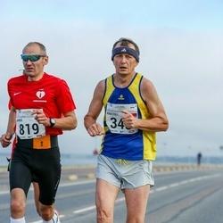 SEB Tallinna Maraton - Anatoli Klishevski (345), Janek Truu (819)