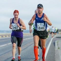 SEB Tallinna Maraton - Heli Iso-Järvenpää (797), Kaarel Tõruvere (1846)