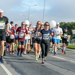 SEB Tallinna Maraton - Hillar Vainjärv (1452), Nicole Reid (1696), Anna Smekalina (1786)