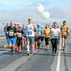 SEB Tallinna Maraton - Eija Krok (1279), Martin Mäe (1291), Annemari Muru (2011), Alar Siemann (2130)