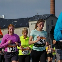 SEB Tallinna Maratoni Sügisjooks (10 km) - Birgit Hänilane (732), Elin Mattis (1214)