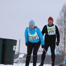 42. Tartu Maraton - Janek Zavatski (4981), Agnes Männik (4982)