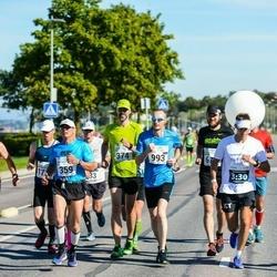 SEB Tallinna Maraton - Eik Eller (359), Priit Kuuskme (374), Rene Kottisse (736), Dmitry Kamushkin (993), Patrick Tukk (1462)