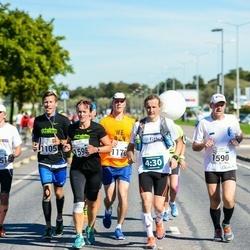 SEB Tallinna Maraton - Klim Gusarov (1105), Willem Kuningas (1170), Tauno Ojasaar (1590), Maie Alaots (1598), Toomas Kristin (2151)