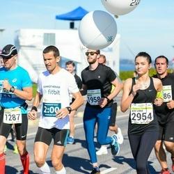 SEB Tallinna Maraton - Thomas Holmström (1287), Ave Liina Tennokese (2954)