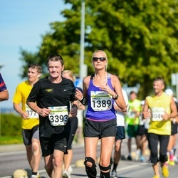 SEB Tallinna Maraton - Annika Vardja (1389), Ülo Luuka (3393)