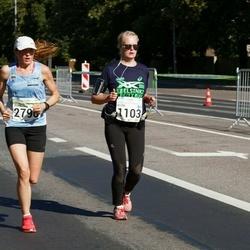 SEB Tallinna Maraton - Helena Hanni (1103), Eurelija Venskaityte (2790)