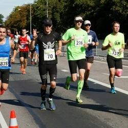 SEB Tallinna Maraton - Roman Pille (70), Ivan Lavrentjev (216), Aleksandr Kazanskij (2785), Brian Sepp (3878)