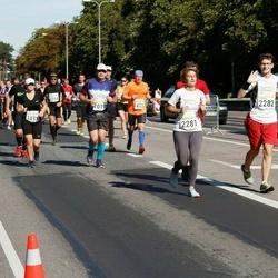 SEB Tallinna Maraton - Anastasiya Eroho Eroho (2281), Stepan Remniov (2282)