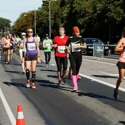SEB Tallinna Maraton - Veikko Tamlak (1094), Annika Vardja (1389), Angelika Kuzmina (3049)