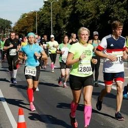 SEB Tallinna Maraton - Olga Mukhina (1343), Age Jakobson (2808)