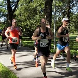 SEB Tallinna Maraton - Lauri Läänemets (564), Stuart Reed (590), Arturs Beluns (1004)